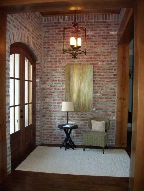 Home Saint Louis Foyer Unme : Brick wall mortar houzz