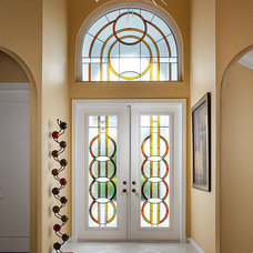 Contemporary Entry by MCMOW ART GLASS