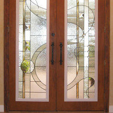 Eclectic Entry by MCMOW ART GLASS