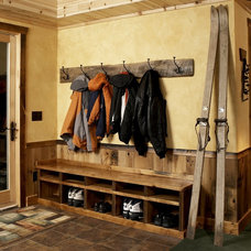 Rustic Entry by mackmiller design+build