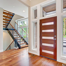Contemporary Entry by Robertson Homes / The 4TH Design