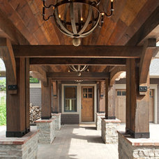Rustic Entry by John Kraemer & Sons