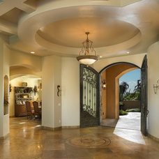 Mediterranean Entry by Soloway Designs Inc | Architecture + Interiors