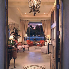 mediterranean entry by Ernesto Garcia Interior Design, LLC