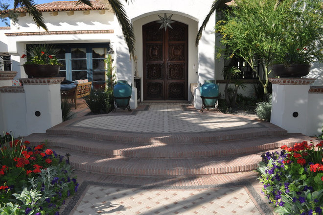 Mediterranean Entry by Exteriors By Chad Robert
