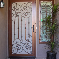 Mediterranean Screen Doors by First Impression Security Doors