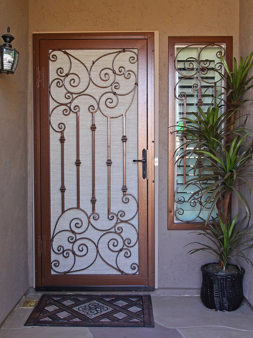 Security Doors Houzz
