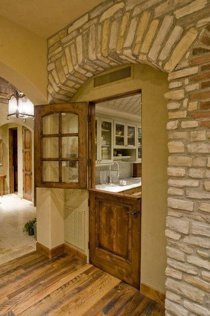 Dutch doors charming and versatile for Split mediterranean house