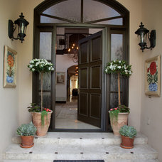 Mediterranean Entry by Leanne Michael L U X E lifestyle design