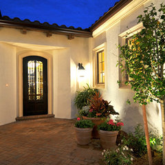 mediterranean entry by London Bay Homes