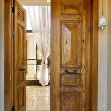 Rustic Entry Mediterranean Entry
