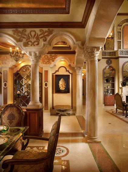 Mediterranean Entry by Perla Lichi Design