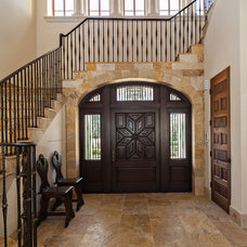Mediterranean Entry by Village Architects AIA, Inc.