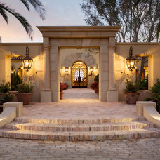 Mediterranean Entry by Giffin & Crane General Contractors, Inc.