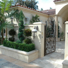 Mediterranean Entry by Shapton Landscape Design