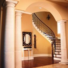 Mediterranean Entry by JOHN DANCEY Custom Designing/Remodeling/Building