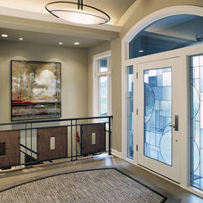 Contemporary Entry by Curt Hofer & Associates