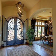 Mediterranean Entry by Lee Construction