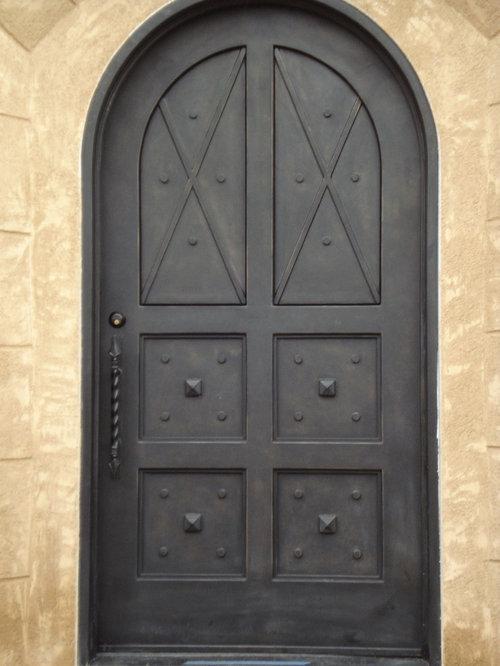 Mediterraner Eingang Hauseingang Eingangsbereich Gestalten