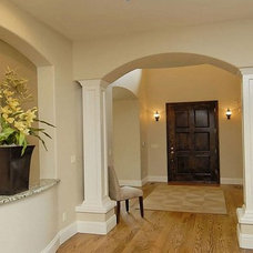 Mediterranean Entry by BlueSky Custom Homes