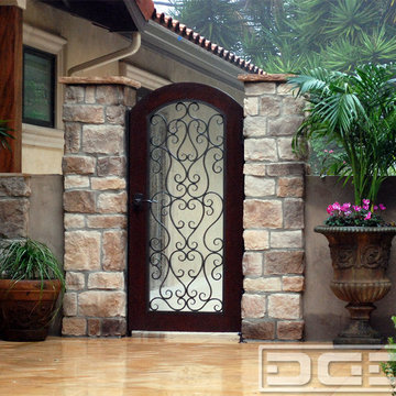 Mediterranean Style Pool Gate | Custom Made Gates That Meet Pool Code Requiremts