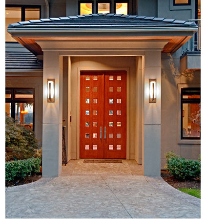 Contemporary Entry by Great Northwest Door Company