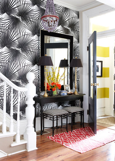 Contemporary Entry by Meredith Heron Design