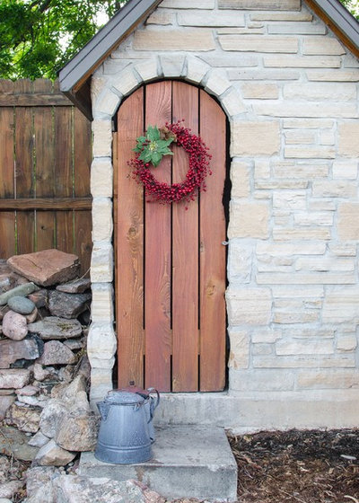 Rustic Entry by The Firefly Garden