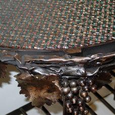 Mediterranean Entry by Designer Glass Mosaics