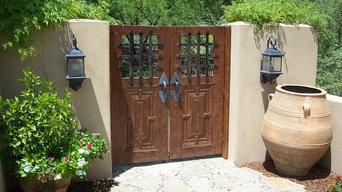 Mexican Garden Gates Entry