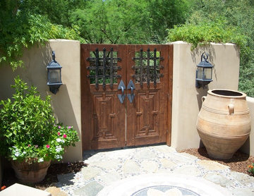 Mexican Garden Gates Entry