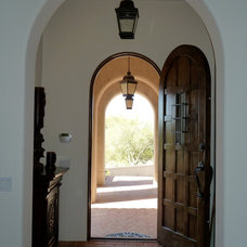 Mediterranean Entry by Pentimento Lighting and Furnishings