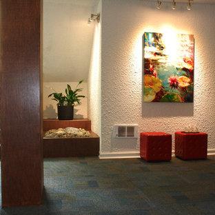 Mid-century Modern Foyer update
