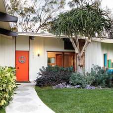 Midcentury Exterior by Native Son Design Studio