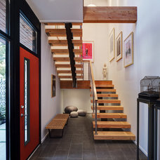 Contemporary Entry by Bruns Architecture