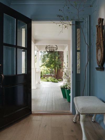 Traditional Entry by Benjamin Dhong Interiors