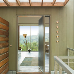contemporary entry by Suzette Sherman Design