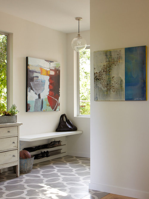Wall Mounted Shoe Rack | Houzz