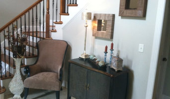 Miller entry foyer design work