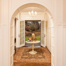 Traditional Entry by JWH Design and Cabinetry LLC
