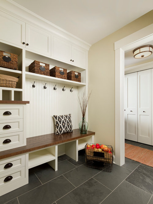 Mudroom design ideas remodels photos for Mudroom layout