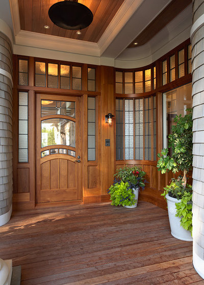Victorian Entry by TEA2 Architects