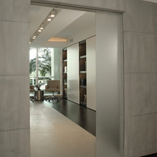 Contemporary Entry by Troy Dean Interiors