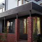 Hill House Modern Entry Melbourne By Mihaly Slocombe