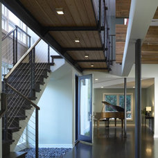 Modern Entry by Burns and Beyerl Architects
