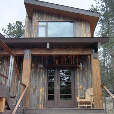 Rustic Entry by Touch Architecture