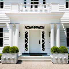 traditional entry by James Schettino Architects