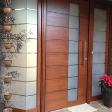 Modern Front Doors by Fenstermann LLC