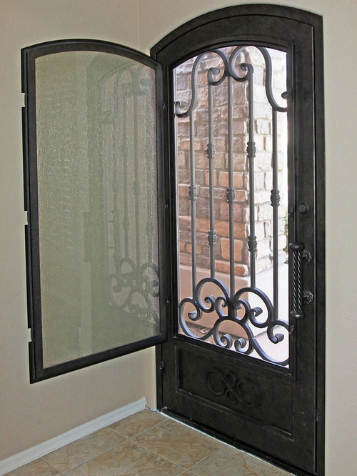 iron entry doors home design ideas pictures remodel and decor