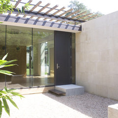 modern entry by Webber + Studio, Architects